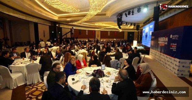 Gazeteciler Ödüllerini Bağcılar'da Aldı