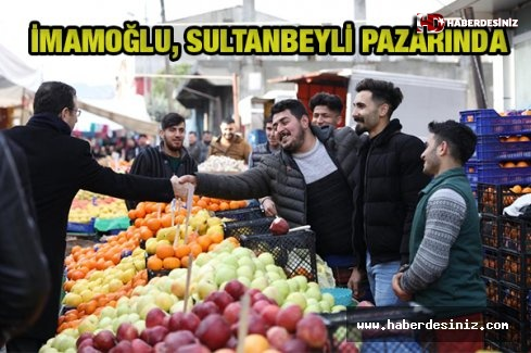 İmamoğlu, Sultanbeyli pazarında