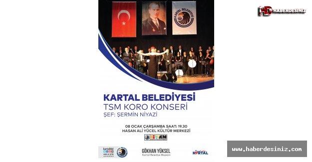 Kartal Belediyesi TSM Korosu, İstanbul Ezgileri ile Büyüleyecek