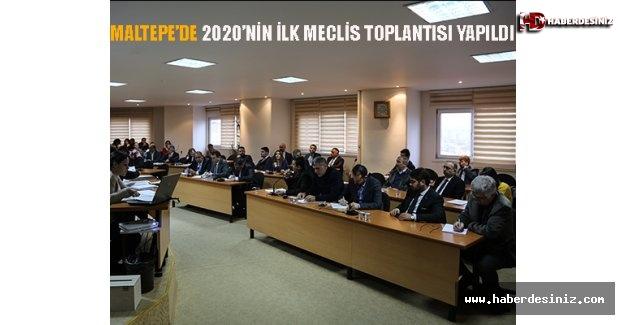 Maltepe'de 2020'nin İlk Meclis Toplantısı Yapıldı