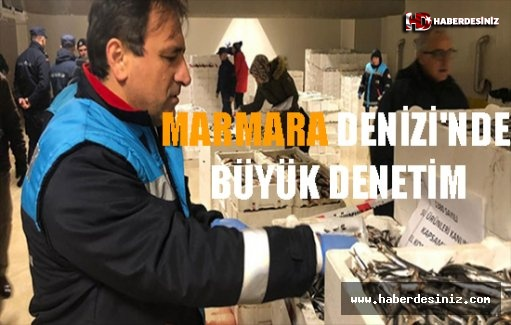 Marmara Denizi'nde Büyük Denetim