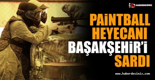 Paintball Heyecanı Başakşehir'i Sardı