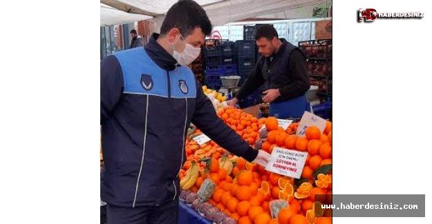 Bağcılar pazarlarında seç-al yasağı