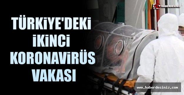 Türkiye'deki İkinci Koronavirüs Vakası