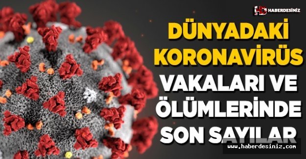 Koronavirüs (Kovid-19) kaç kişide görüldü? Vaka ve ölüm sayıları