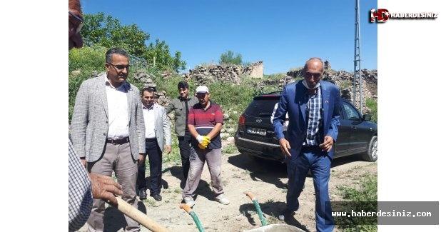 Hadımlı Köyünde İMC Yöntemiyle Cami Yapılıyor
