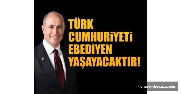 Akgün: Kuzey Kıbrıs Türk Cumhuriyeti ebediyen yaşayacaktır!
