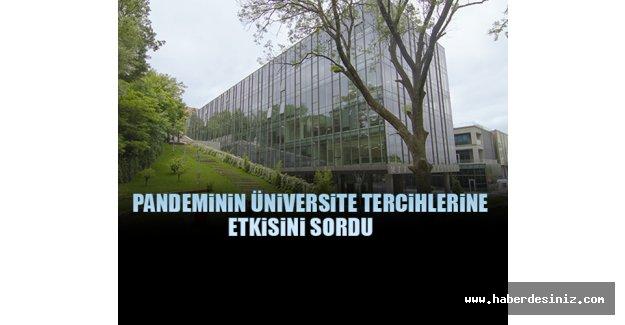 Mef Üniversitesi Üniversite Adaylarına Anket Yaptı