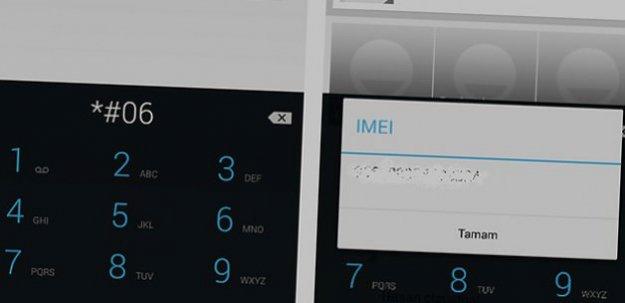 Akıllı telefonlarda IMEI numarası öğrenme