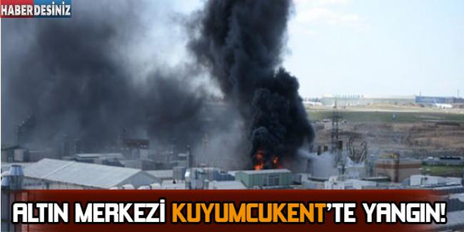 Altın Merkezi Kuyumcukent'te Yangın !
