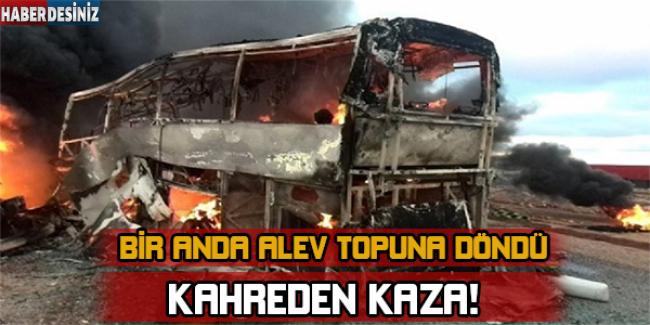 Fas'ta Feci Otobüs Kazası: 40 Sporcu Çocuk Yanarak Can Verdi