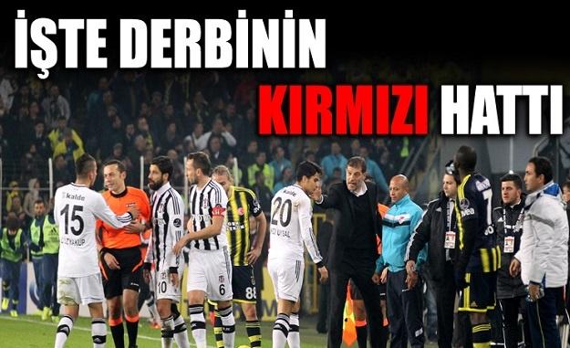 İşte Beşiktaş-Fenerbahçe derbisinin kırmızı hattı