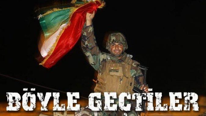 Peşmerge Kobani'ye girdi