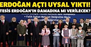 Erdoğan açtı, Uysal yıktı!