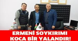 ERMENİ SOYKIRIMI KOCA BİR YALANDIR!