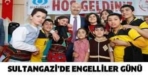 SULTANGAZİ'DE ENGELLİLER GÜNÜ