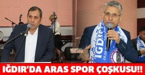 IĞDIR'DA ARAS SPOR ÇOŞKUSU!!
