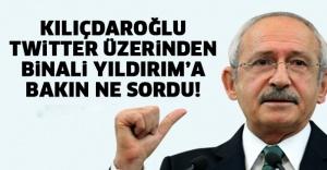 bKILIÇDAROĞLU TWİTTER ÜZERİNDEN.../b