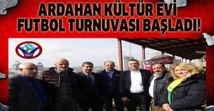 Ardahan Kültür Evi futbol turnuvası başladı!