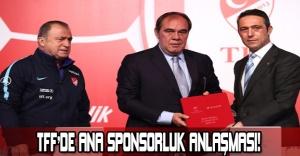 TFF'DE ANA SPONSORLUK ANLAŞMASI!