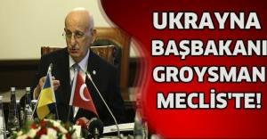 bUKRAYNA BAŞBAKANI GROYSMAN MECLİS#039;TE!/b