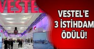 VESTEL'E 3 İSTİHDAM ÖDÜLÜ!