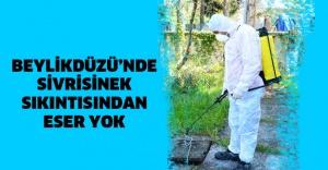 BEYLİKDÜZÜ'NDE SİVRİSİNEK SIKINTISINDAN ESER YOK
