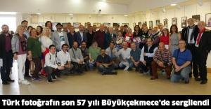 Türk fotoğrafın son 57 yılı Büyükçekmece'de sergilendi