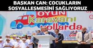 Başkan Can: Çocukların sosyalleşmesini sağlıyoruz