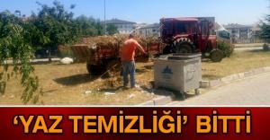 'YAZ TEMİZLİĞİ' BİTTİ