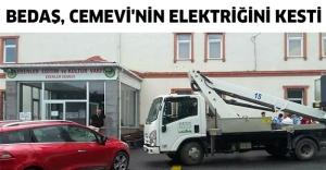 BEDAŞ, Cemevi'nin elektriğini kesti