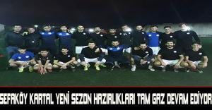 bSefaköy Kartal Yeni sezon hazırlıkları.../b
