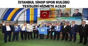 bİSTANBUL SİNOP SPOR KULÜBÜ TESİSLERİ.../b