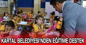 KARTAL BELEDİYESİ'NDEN EĞİTİME DESTEK