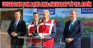 HAVARAY'IN YERİNE METRO GELİYOR