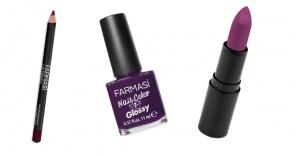 Farmasi'den yılın rengi 'ultra violet' seçenekleri