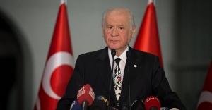 MHP Lideri Bahçeli, '' Toplum Vicdanı İçin Yeni Bir Seçim Yapılmalı''