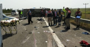 1 Mayıs#039;ta feci kaza: Ölü ve...