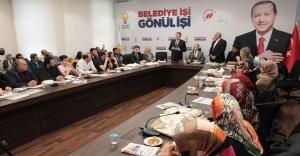 Bahçeköy'de 45 kişi AK Parti'ye katıldı..!