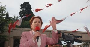 Meral Akşener Bakırköy Özgürlük Meydanı'ndan seslendi!