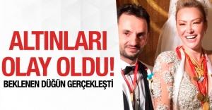 Aylin Coşkun ve Volkan Arslan'ın Göz Kamaştırıcı Düğünü