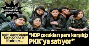 Çocukları kandırıp PKK#039;ya...
