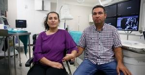 Komaya giren hamile kadın bebeğiyle birlikte zarar görmeden kurtuldu