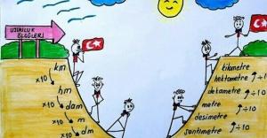 """""""Durakta Matematik"""" Projesi, Bakırköy'de de hayata geçirildi"""
