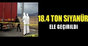 Gürbulak Sınır Kapısı'nda 18.4 ton siyanür ele geçirildi!.