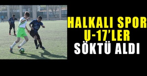 Halkalı Spor U-17' ler Söktü Aldı 3-1