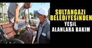 Sultangazi Belediyesi'nden Yeşil Alanlara Bakım