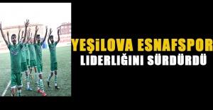 Yeşilova Esnafspor, Liderligini Sürdürdü