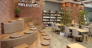 İstanbul'un Merkezine 10 Bin Kitaplı Millet Kıraathanesi Açılıyor