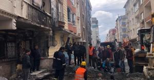 Patlamada Zarar Gören Evleri Esenyurt Belediyesi Onaracak